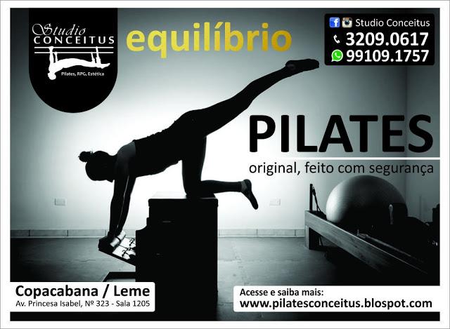 Pilates é mais que um método, é um estilo de vida.