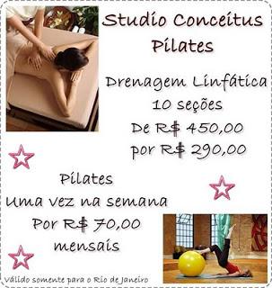 SORTEIO STUDIO CONCEITUS + BLOG PISCOU ACONTECEU !!